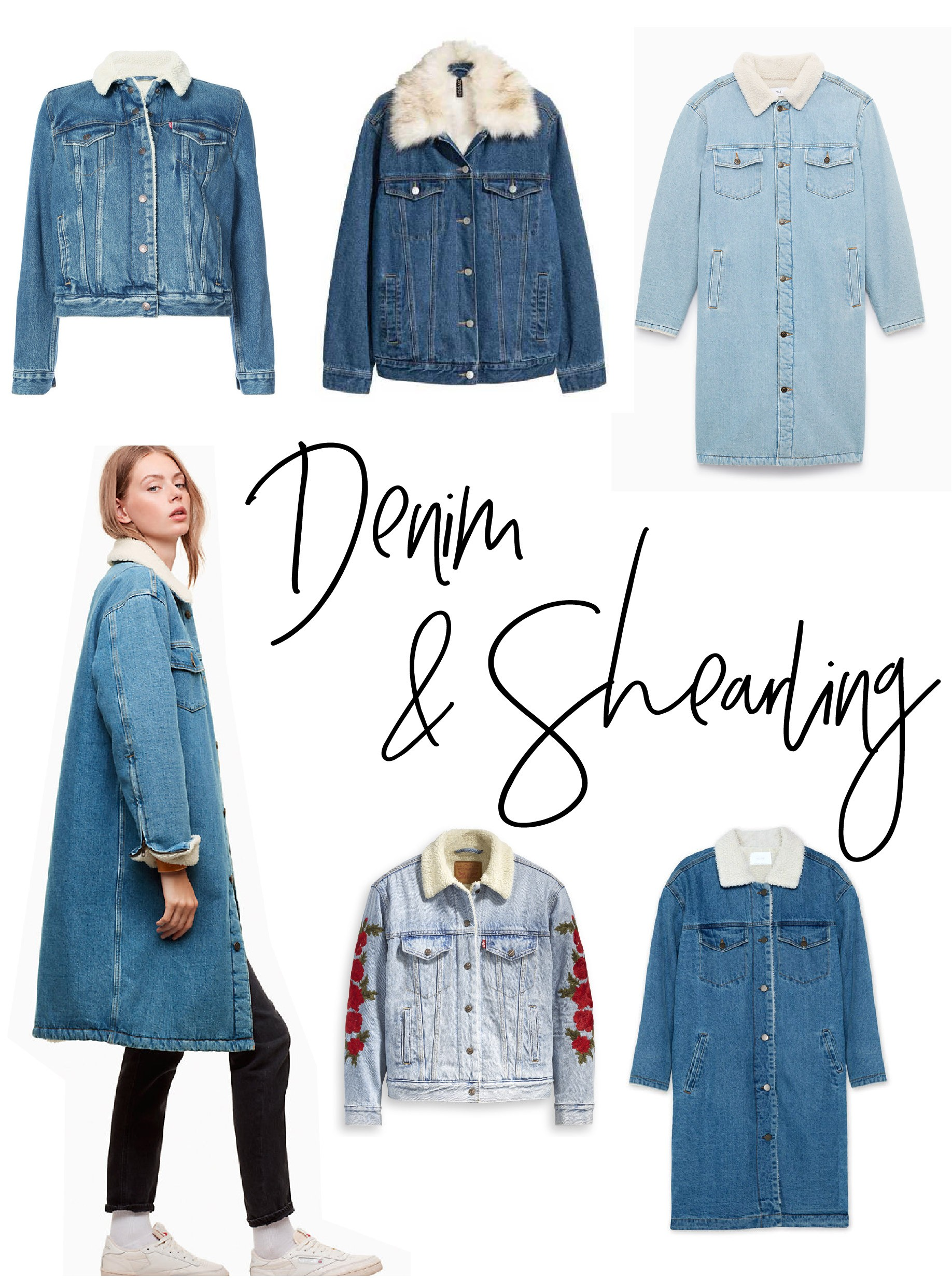 886ce5b8261 12 Amazing Denim Shearling Jackets