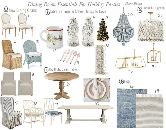 There Are Many Rooms In The House That We Should Get Ready For Holidays But Dining Room Is Usually Where Will Entertain Most