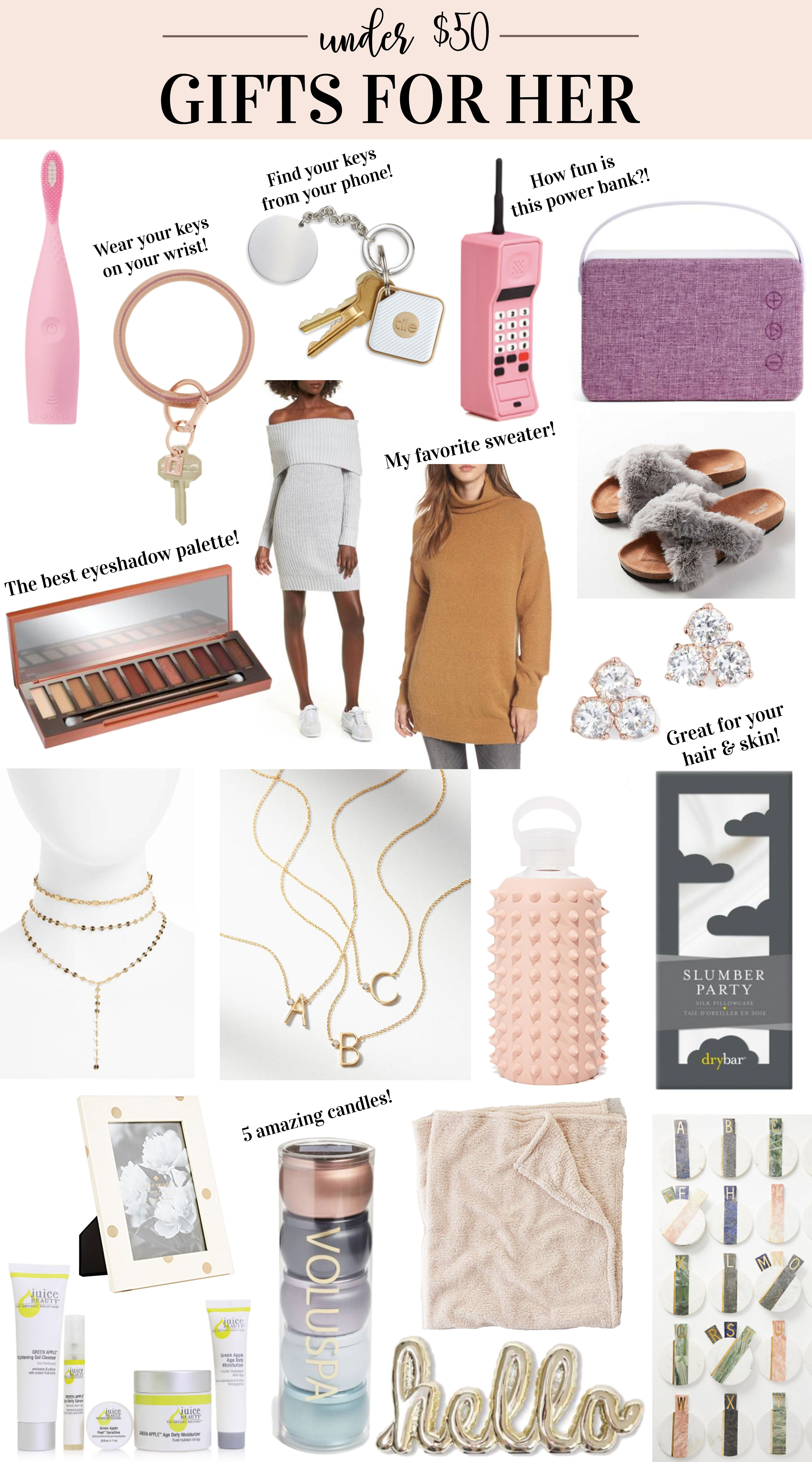 GIFTS FOR HER UNDER $50 — Me and Mr. Jones