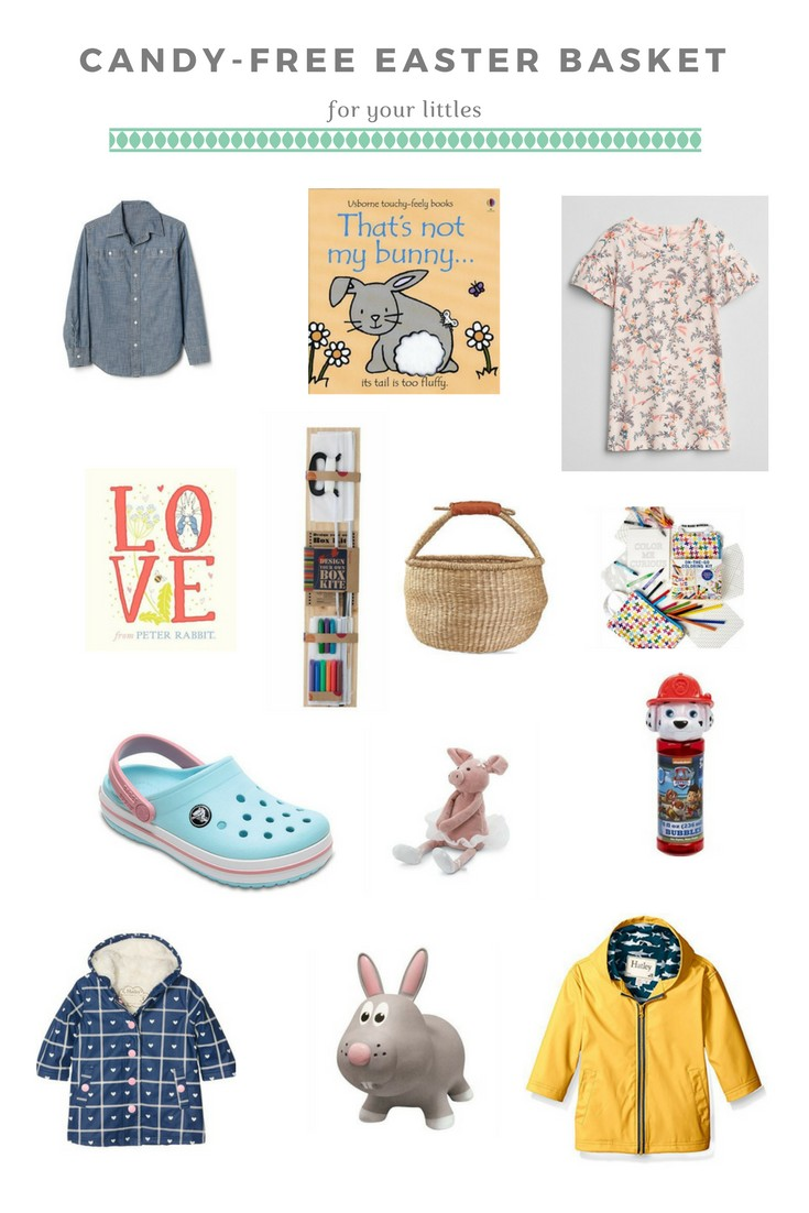 Candy free easter basket ideas for your kids this easter the wild candy free easter basket ideas for your kids this easter negle Image collections