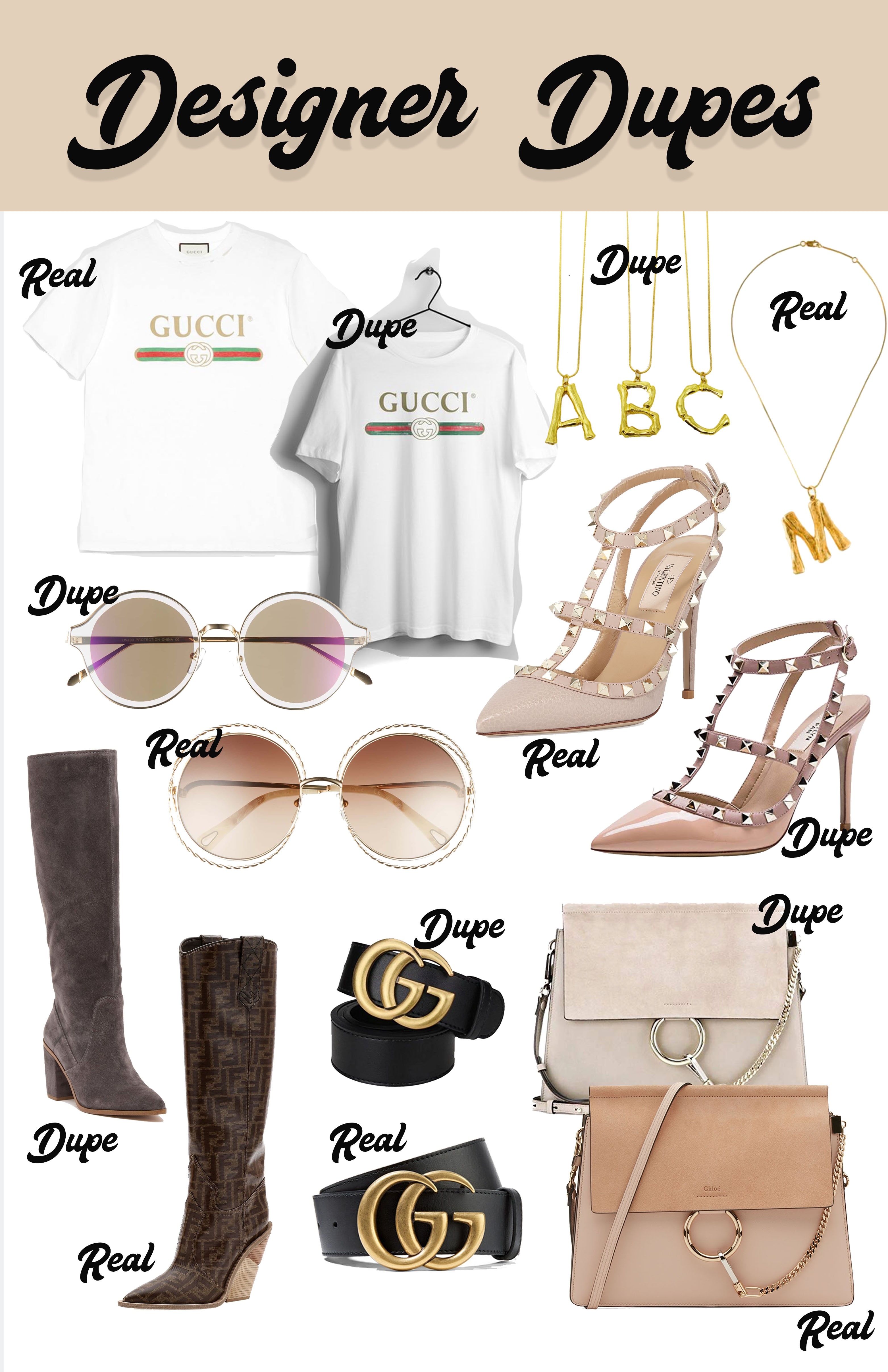 cba063e37181 Here we go... the moment you ve been waiting for! Below I have my favorite  designer dupe combos