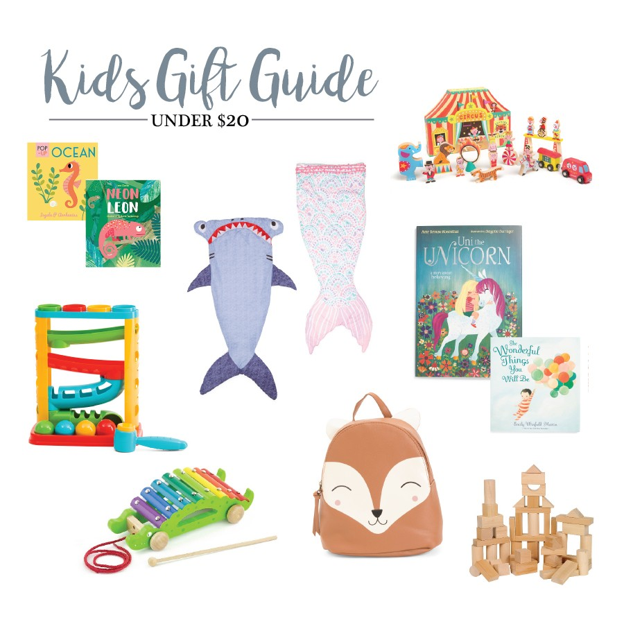 Holiday Gift Guide: The Best Kids Christmas Presents under $20!