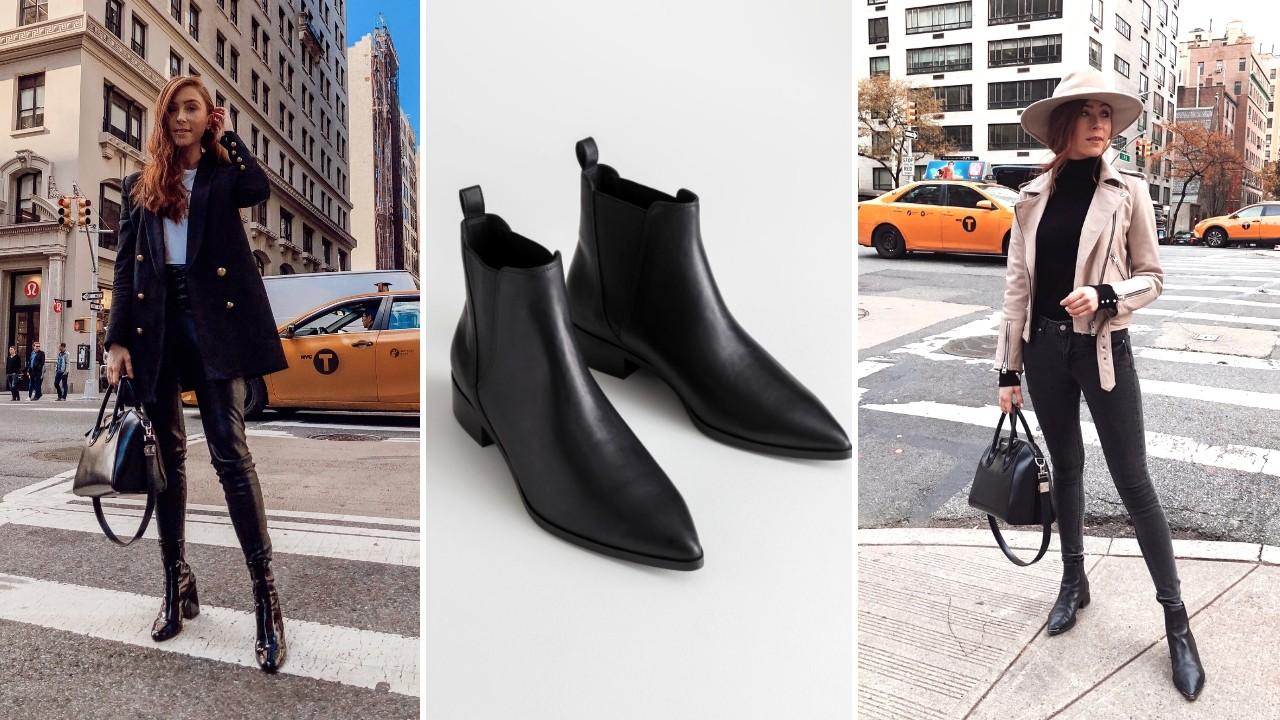 33cc7a0630d Retro's Winter Edit: Black Ankle Boots