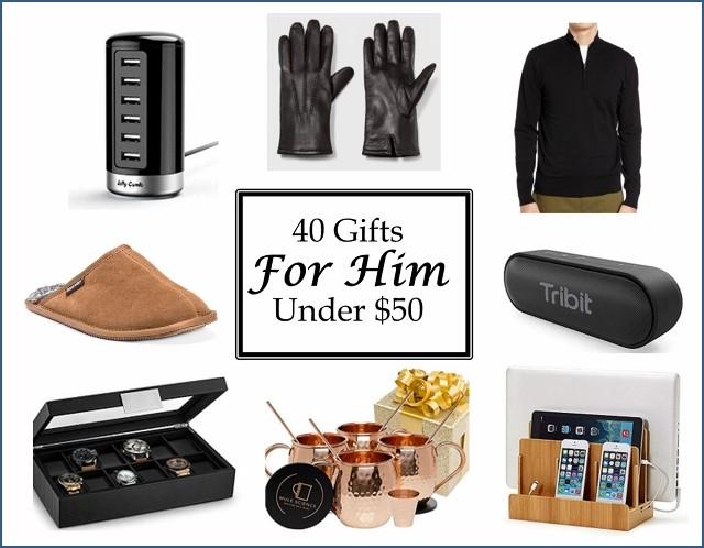40 Gifts for Him Under $50 - Kinda