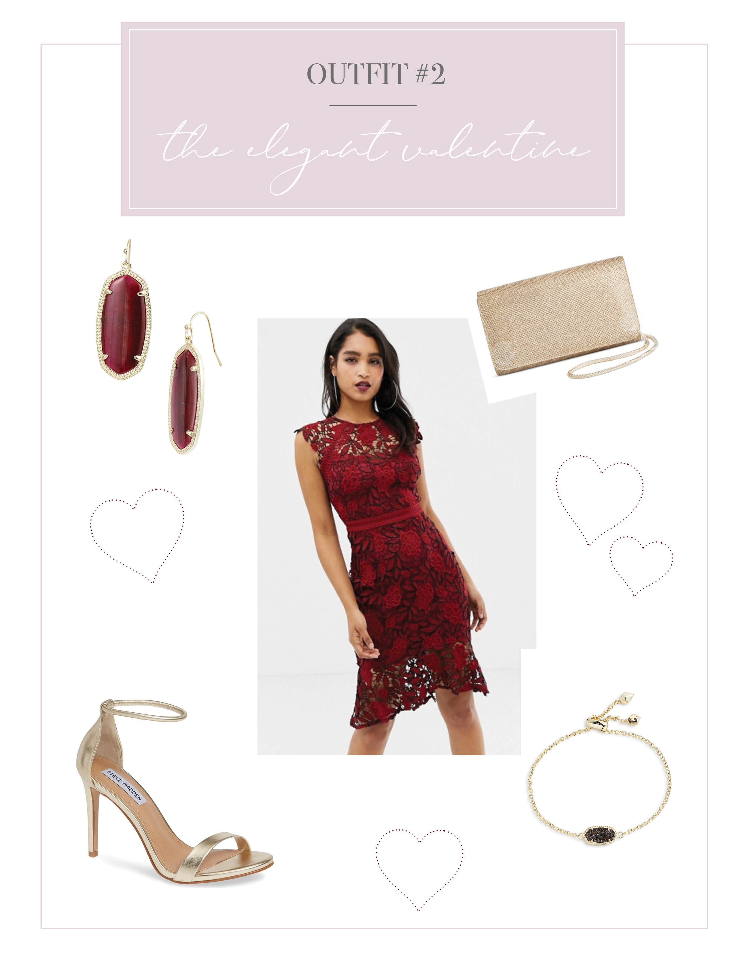 050f971f92d OUTFIT 3  THE FLIRTY VALENTINE. This dress ...