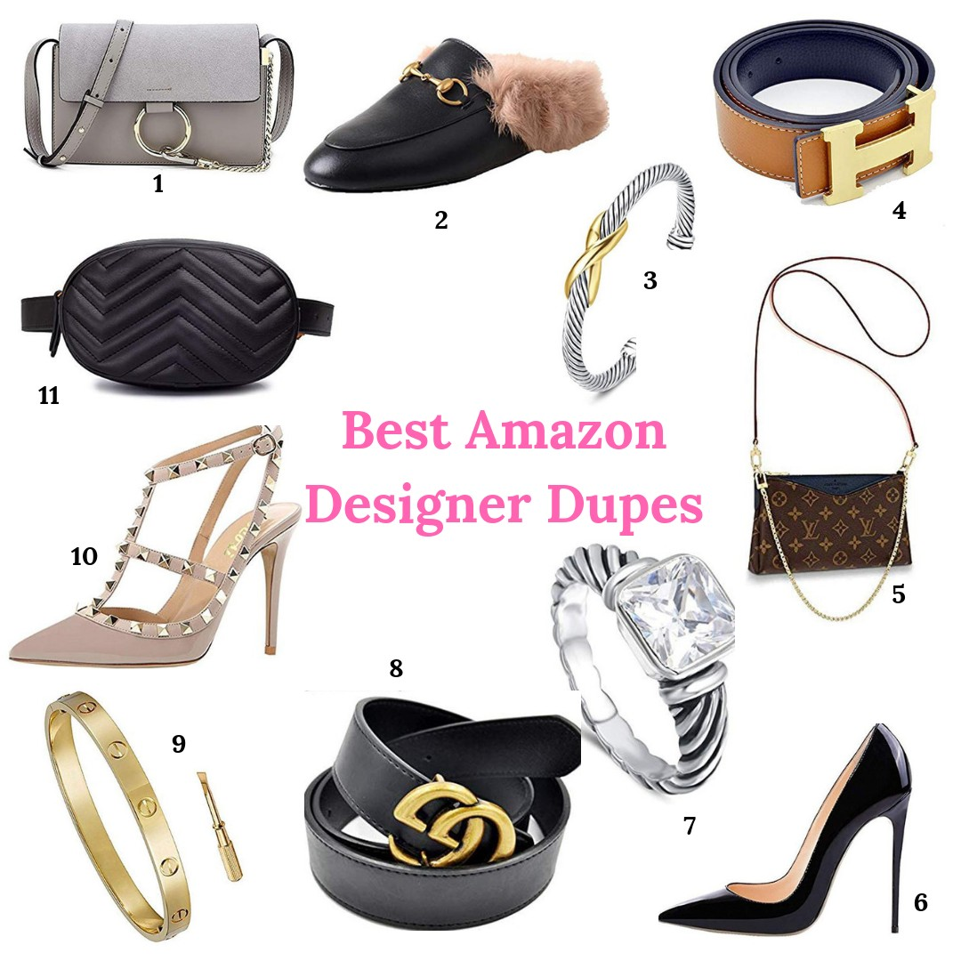 184070f7f2e Best Amazon Designer Dups. Happy Monday! Hope you all had a fantastic  weekend. I ve been wearing my  29 Gucci Belt Dupe and got a ton of requests  for an ...