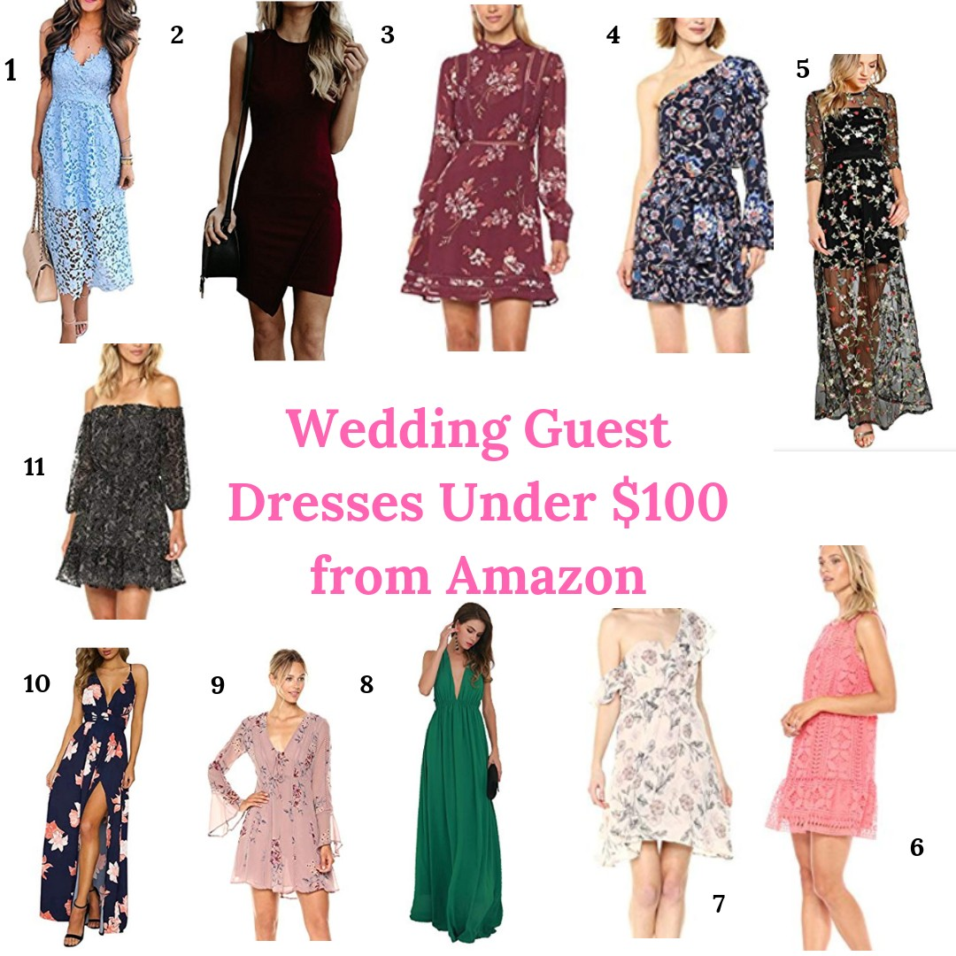 6d8067825b9 Wedding Guest Dresses from Amazon (Under  100) - Always Meliss