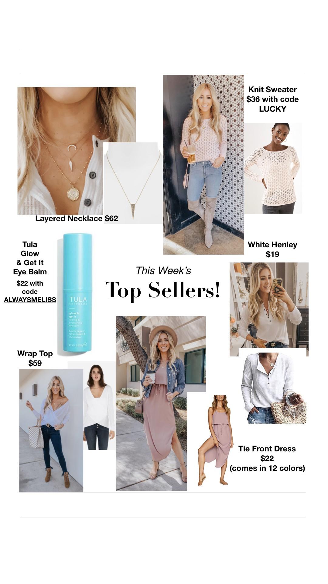 Last Week's Top Sellers - Always Meliss