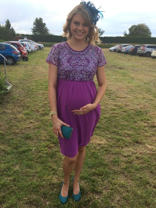Wedding Guest Wear At 7 Months Pregnant