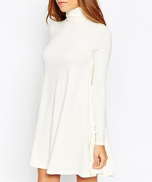 461f9661b7d Calvin Klein Bespoke Midi Turtleneck Dress - Meghan s Mirror