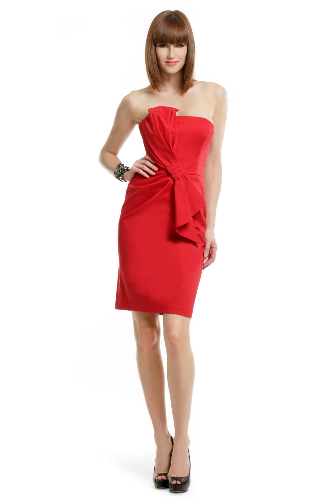 Lady In Red Dress