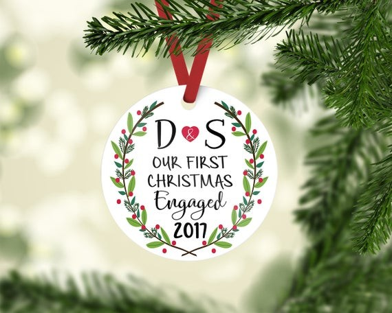 Of course if you would like to make your own ornament you can follow our  steps for these DIY newlywed ornaments or purchase your own in our shop  right here! - The Best Newlywed Christmas Ornaments