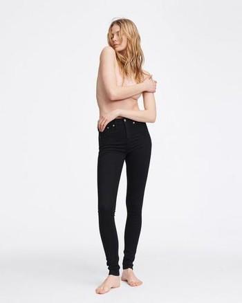 56adda44281a Retro s Winter Edit - The Best Black Jeans   Leather Leggings