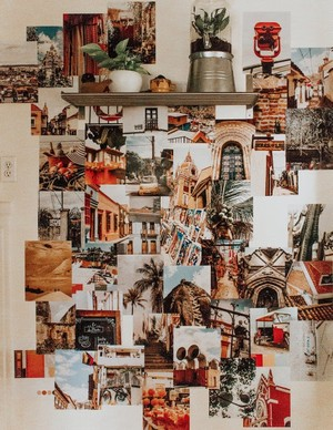 Venture Into The Woods - DIY Collage Wall - Venture Into The