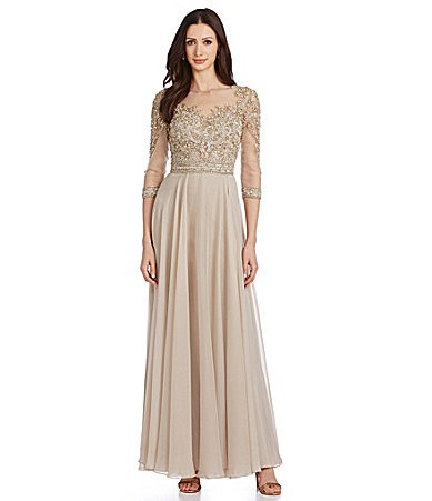 Trubridal Wedding Blog | Gold, Taupe, and Neutral Mother of the ...