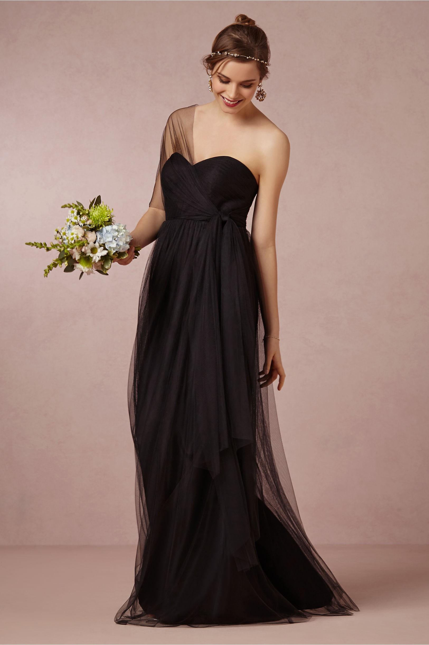 Dark grey bridesmaid dresses wedding colors bhldn ombrellifo Images