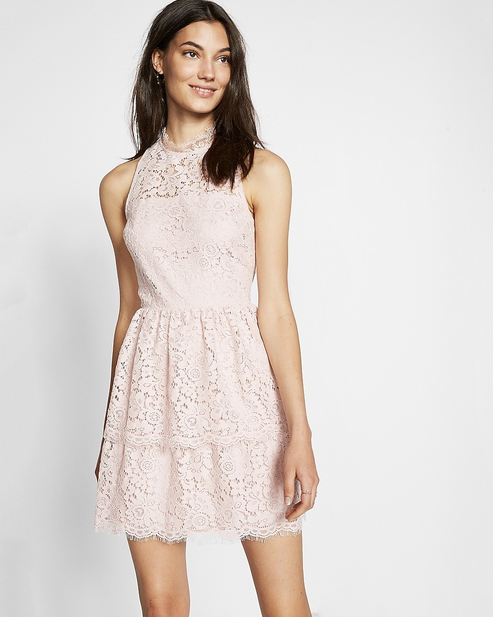 Look Pretty In Blush This Fit And Flare Number