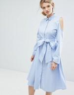 Blaues Kleid Kombinieren Style Ideen Fur Hochzeit Freizeit Und Buro