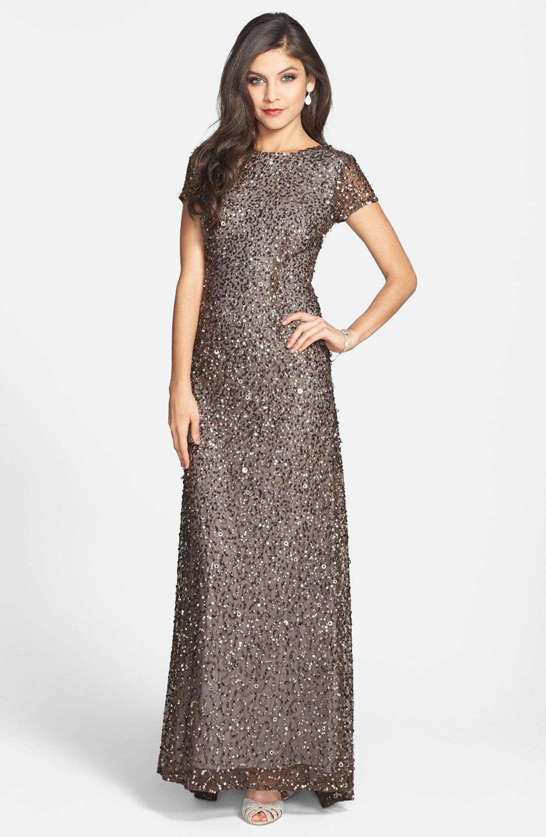 34 glamorous and gorgeous sequin bridesmaids dresses junebug shop silver sequin bridesmaids dresses ombrellifo Choice Image