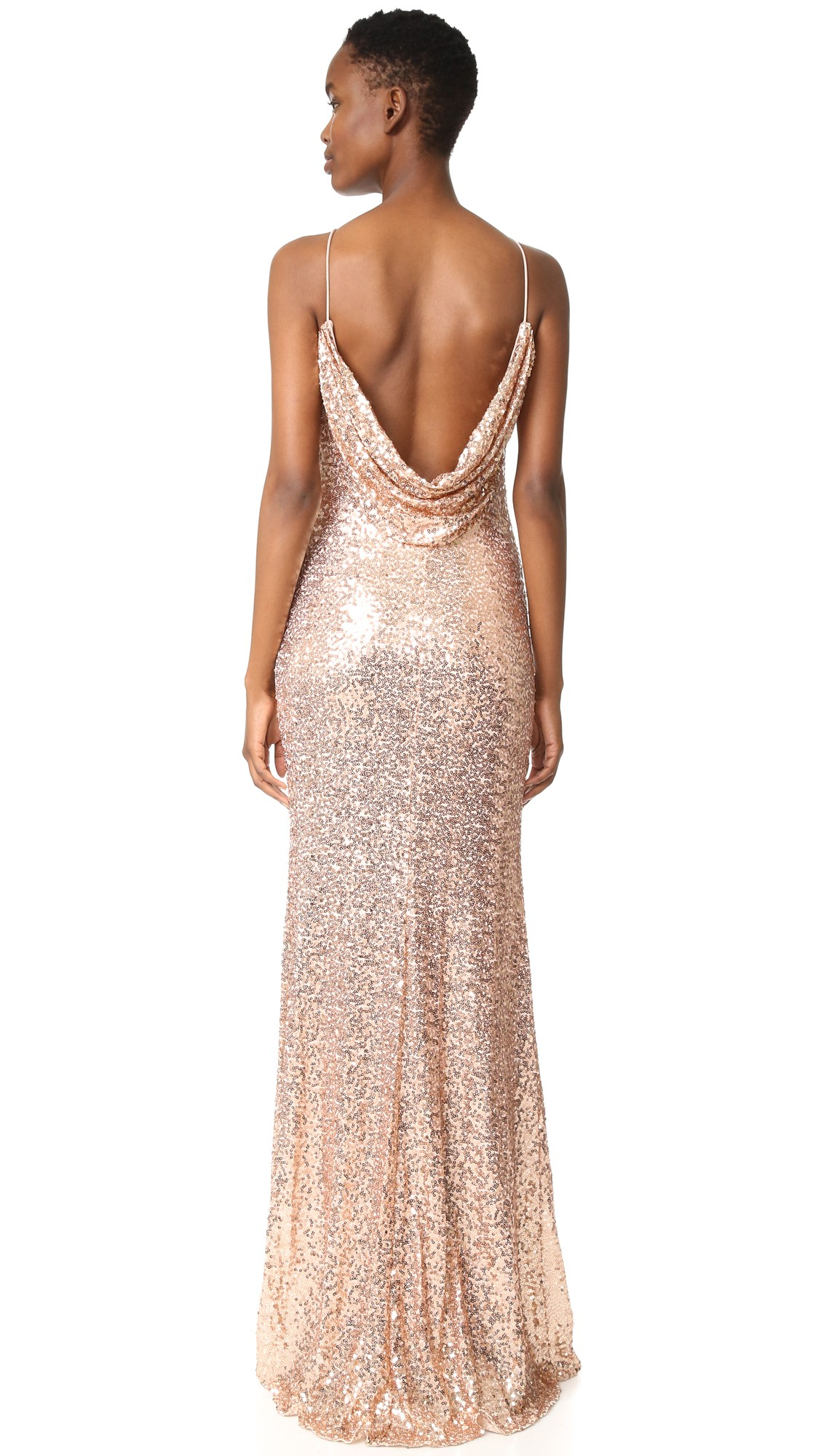 34 glamorous and gorgeous sequin bridesmaids dresses junebug shop rose gold sequin bridesmaids dresses ombrellifo Images
