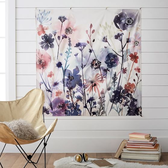 And I love the idea of taking that big tapestry  what a great price point    and making it art  I mean art that big is never this affordable. Thirty Home Decor things under  30   Bower Power