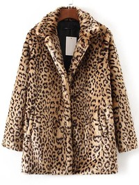 412201b2a76f The Perfect Leopard Faux Fur Coat and Wrap Dress - Marblelously Petite