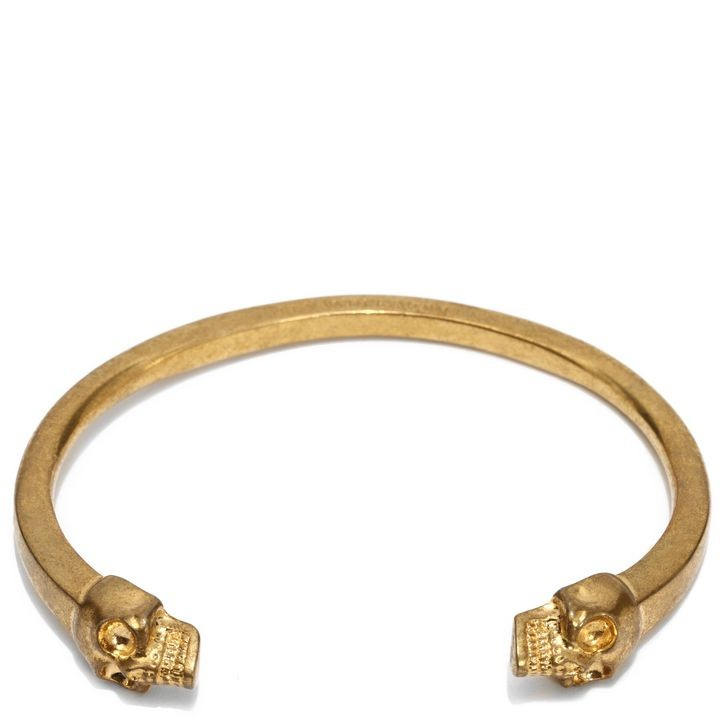 Alexander Mcqueen Gold Skull Bracelet The Best Ancgweb Org Of 2018