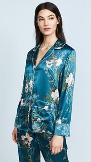e9a8a6d0a0 Iris   Ink Silk Pajama Set - JULIET ANGUS