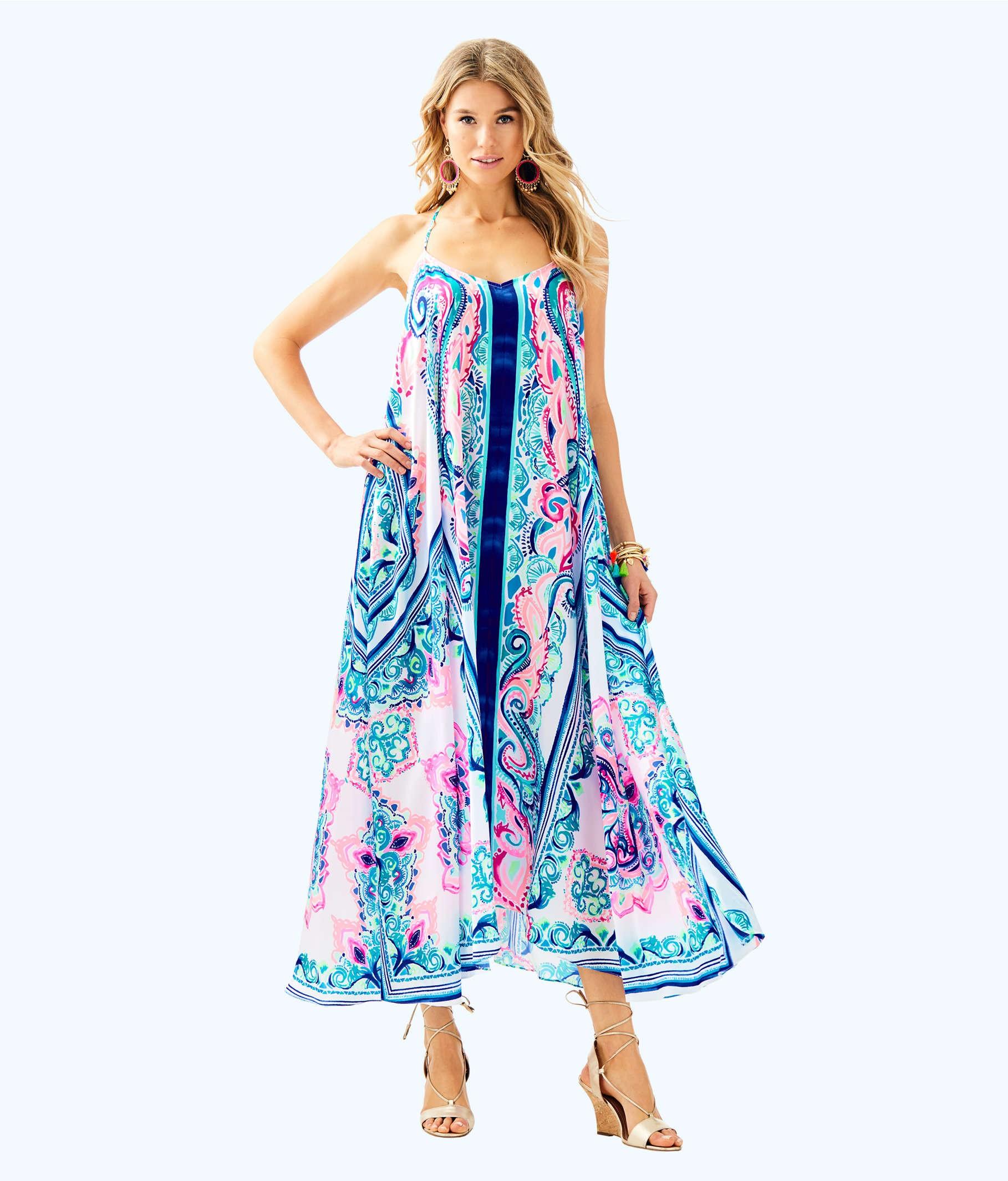 30 Week Bumpdate + Lilly Pulitzer Maxi Dress - CLASSY SASSY