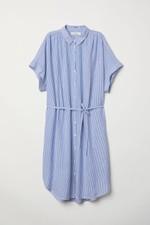 9bfd456129c Blau-weiße Sommerkleider für Mutter   Tochter