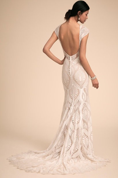 For A Backless Wedding Dress Here
