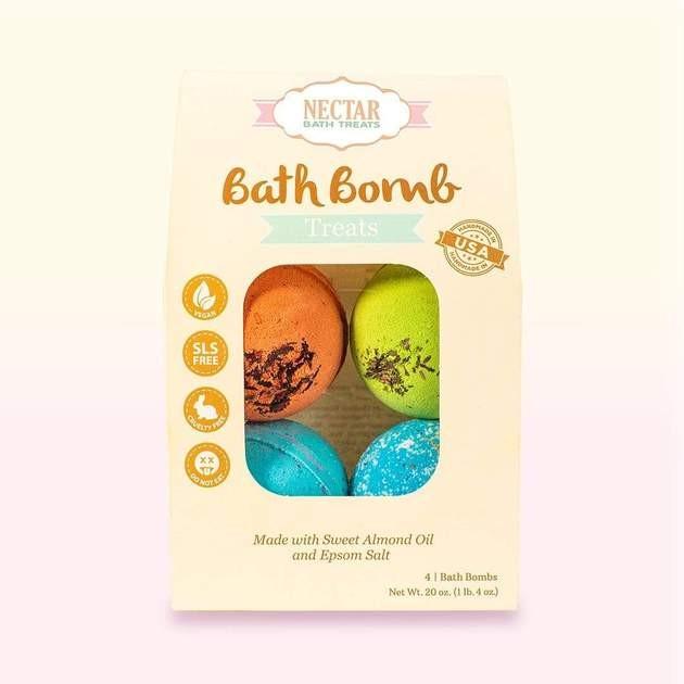 Nectar Bath Treats Bath Bomb Set