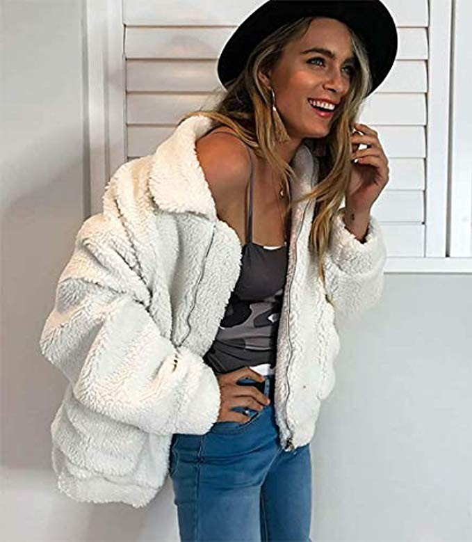 free people dupe, teddy coat
