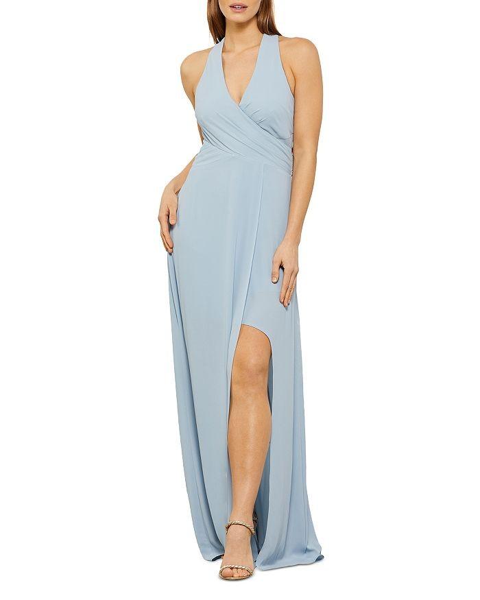 Blue Long Dress Spring Wedding