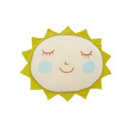 BlaBla Kids Kids Sun Rib-Knit Cotton Pillow   Moda Operandi Global