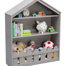 Gray Serta Happy Home Two-Shelf Storage Bookcase   Zulily