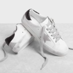 Star Patch Lace Up Splice Sneakers   SHEIN