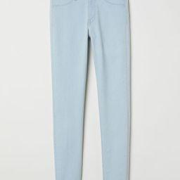 H & M - Skinny Regular Ankle Jeans - Blue   H&M (US)