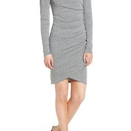 Women's Leith Ruched Long Sleeve Dress, Size X-Small - Grey   Nordstrom
