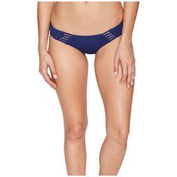 Rip Curl Designer Surf Hipster Bikini Bottom (Navy) Women's Swimwear   6pm