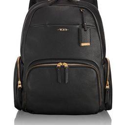 Calais Leather Backpack   Tumi