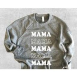 Mama Sweatshirt, Mama, Cool Mom Vibes, Mom Shirt, Cute Sweatshirt for Women, Crewneck Sweatshirt, Sweatshirt with Sayings, Mom Sweatshirt | Etsy (US)