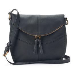 SONOMA Goods for Life™ Shelia Flap Crossbody Bag, Women's, Black | Kohl's