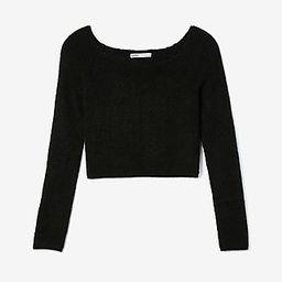 Express Womens Olivia Culpo Off The Shoulder Ribbed Sweater Black Women's Xxs Black Xxs | Express