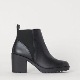 H & M - Ankle Boots - Black | H&M (US)