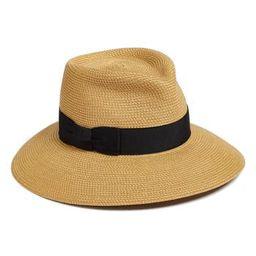 Women's Eric Javits 'Phoenix' Packable Fedora Sun Hat - Beige | Nordstrom