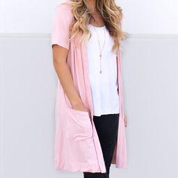 Pink Pocket Duster - Women | Zulily