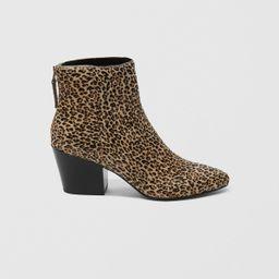 Dolce Vita Leopard Coltyn Bootie | Abercrombie & Fitch US & UK