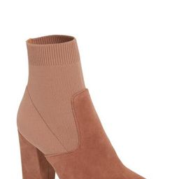 Women's Steve Madden Reece Sock Bootie, Size 10 M - Pink | Nordstrom