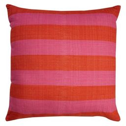 Kate Spade New York Double Stripe Accent Pillow, Size 32x32 - Pink | Nordstrom